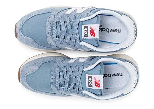 New Balance Men's 420 Re-Engineered Men's Light Blue Sneakers luz azul/blanco