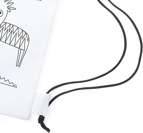 Lote de 20 Mochilas y 20 Estuches para Colorear. Cada mochila y estuche Incluyen Ceras para Pintar - Regalo Original para cumpleaños Fiestas y Eventos Infantiles. Diversión Asegurada - Original Regalo: Amazon.es: Equipaje