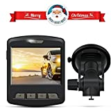 Dash Cam, ARTSEA 170° Wide Angle View 1920x1080P 2.0'' Screen Mini Car Camera with Parking Monitor Loop Record Impact Sensor
