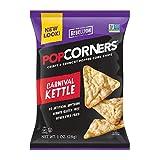 POPCORNERS Carnival Kettle, Popped Corn Chips, Gluten Free, Non-GMO, Single Serve (1oz/40 Pack)