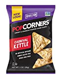POPCORNERS Carnival Kettle, Popped Corn Chips, Gluten Free, Non-GMO, Single Serve (1oz/40 Pack)