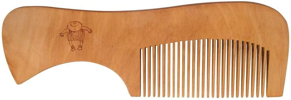 Azeeda Happy Toddler Wooden Comb HA00024381