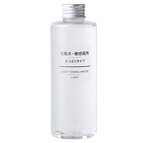 Muji Sensitive Skin Moisturizing Toning Water/Toner, Light   200ml by Muji