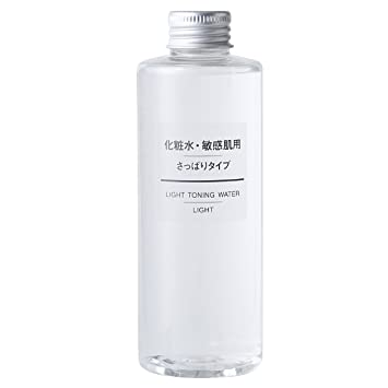 Image result for muji sensitive toning water light