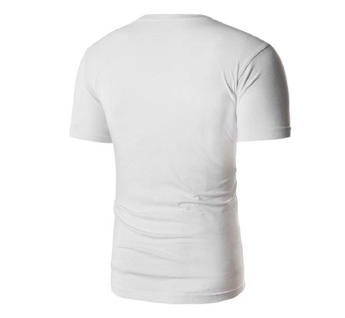 neveraway-men clothes Playera Polo con Cuello Redondo para Hombre ... cd4a855879d6c