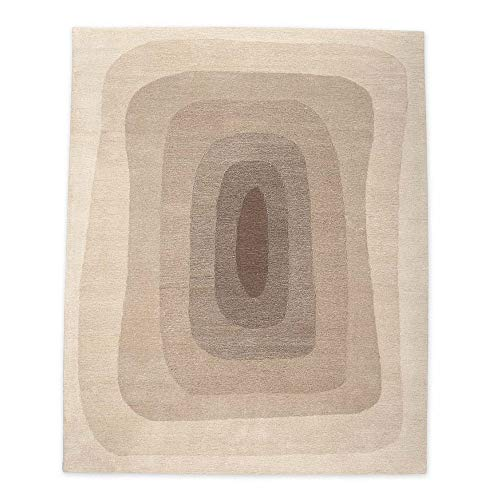 Vivaterra Hand Tufted Fusion Wool Area Rug - 4' x 6'