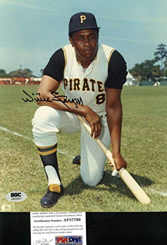 (WILLIE STARGELL PSA DNA Coa Autograph 8x10 Photo Hand Signed Authentic)