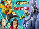 FGTeeV Kids Pokemon Battle with Shadow Mewtwo, Charizard & More Image