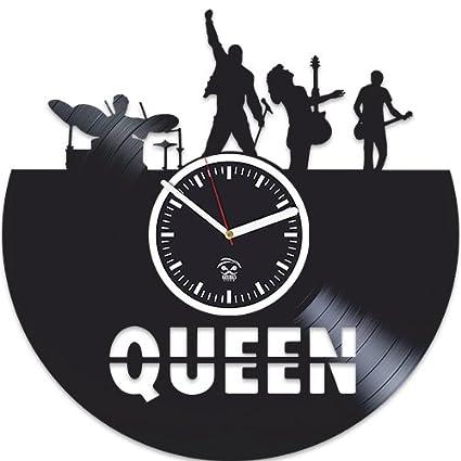 Freddie Mercury música, reina Disco de vinilo reloj de pared vinilo, kovides, adhesivo