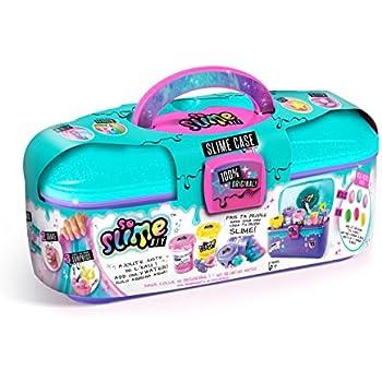 Amazon Com So Slime Storage Case Rainbow 3 Pack Make