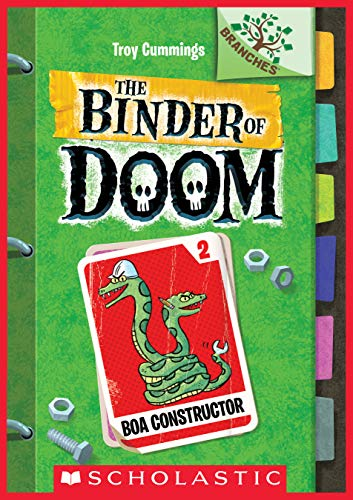 Boa Constructor: A Branches Book (The Binder of Doom #2