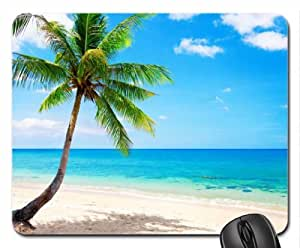 Tropical Beach Mouse Pad, Mousepad (Beaches Mouse Pad) by mcsharks
