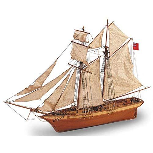 Artesania Latina 18021 Scottish Maid Schooner Wooden Model Modeling Kit, 26.37