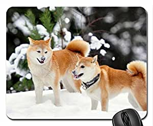 Akita dogs Mouse Pad, Mousepad (Dogs Mouse Pad)