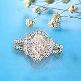 Sinwo Womens Diamond Jewelry Ring Wedding Band