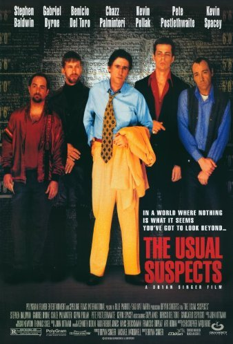 The Usual Suspects POSTER Movie