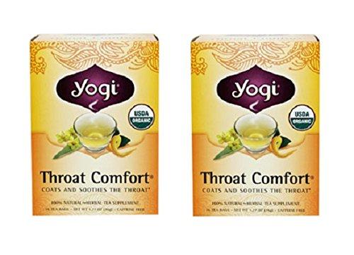 Yogi TEA Organic Throat Comfort® Tea: 32 TEA Bags -