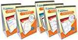 NewPath Learning 5 Piece Thinking Graphically About Reading Comprehension Flip Chart Set, Grade 1-8