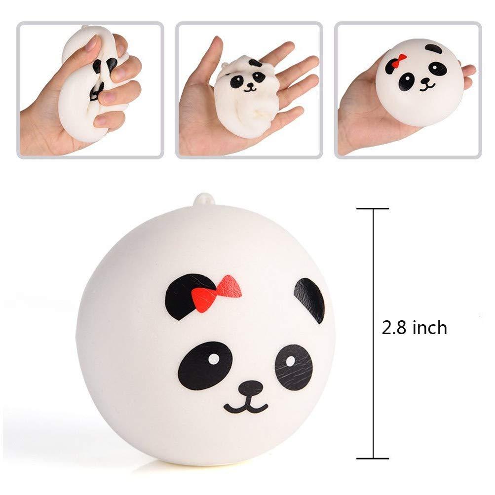 Amazon.com: Super suave Chubby oso panda Pan bollo Squishy ...