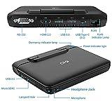 [256GB M.2 SSD Version] GPD MicroPC Micro PC 6-inch Handheld Industry Laptop Mini PC Computer Windows 10 Pro or Ubuntu MATE,Supports RS-232,RJ45,Type C,USB 3.0,HDMI,MicroSDXC,Battery 2×3100mAh,8GB RAM