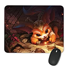Gnar-001 League of Legends LoL Mousepad Custom Print