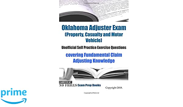 Adjuster license Oklahoma