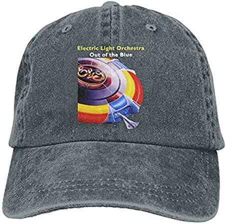 ha-fullshop Unisex Electric Light Orchestra Out of The Blue Cotton Baseball  Cap Washed Dyed d6a9c4b9752e