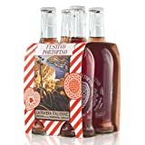 Niasca Portofino Festivo Portofino, Italian Bitter Tonic, Glass Bottle, 250 ml (4 Count)