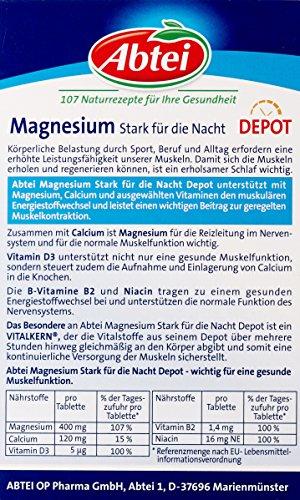 Abtei Magnesium Stark für die Nacht Depot 30 Tabletten