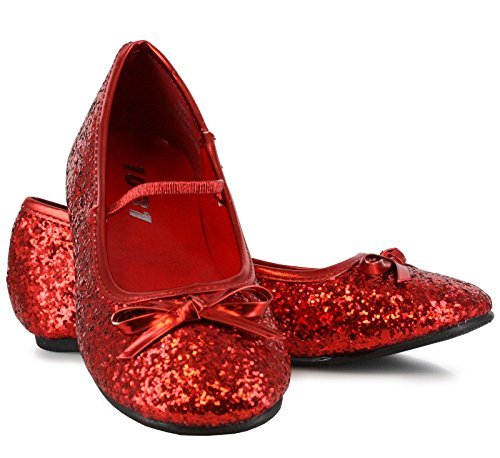 PLEASER - Sparkle Ballerina (Red) Child (Mrs Claus Shoes)