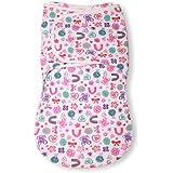 Summer Infant SwaddleMe WrapSack Blanket, Flower Power, Large