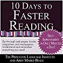10 Days to Faster Reading: Jump-Start Your Reading Skills with Speed reading Audiobook by Abby Marks-Beale, The Princeton Language Institute Narrated by Abby Marks Beale