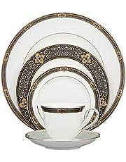 Lenox Vintage Jewel Platinum-Banded Bone China 5-Piece Place Setting