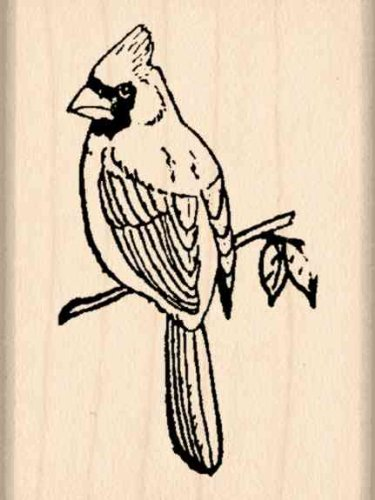 Cardinal Rubber Stamp - 1-1/2 inches x 2 inches