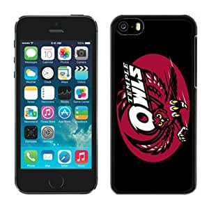 Iphone 5c Case Ncaa AAC American Athletic Conference Temple Owls 2 Pensonalized Phone Covers Apple Phone Cases