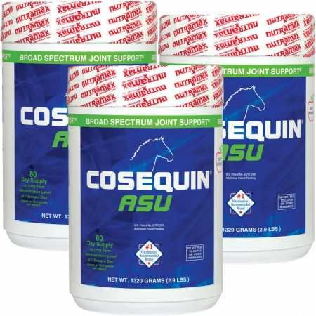 Cosequin New (Cosequin 3-Pack ASU Joint Health Supplement Formula for Horses)