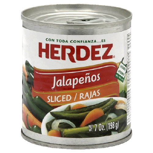 Herdez Sliced Jalapeno Peppers, 7 Ounce