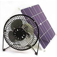 Solar 10w semi-flexi Powered Fan Ventilation Caravan Camping