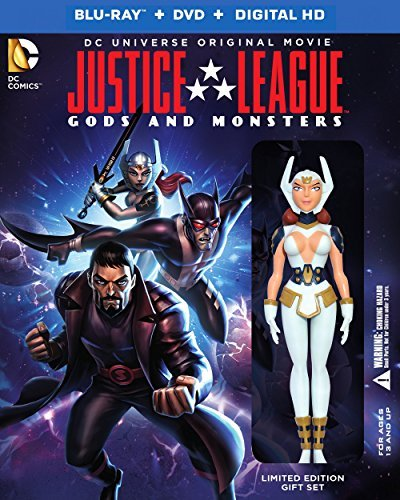 Blu-ray : Justice League: Gods & Monsters (With DVD, Deluxe Edition, Ultraviolet Digital Copy, 2 Pack, )