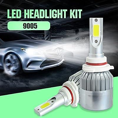 110W 9200LM 6000K Xenon Headlight Auto Headlamp H1 H4 H7 H11 H13 880 9004 9005 9006 9007 LED Car Conversion Kit Headlight Bulb Hi-Lo Beam 9v 36v White