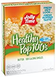 Jolly Time Healthy Pop Butter Microwave Popcorn Single Serve Mini Bags, 10 Count (Pack of 3) For Sale