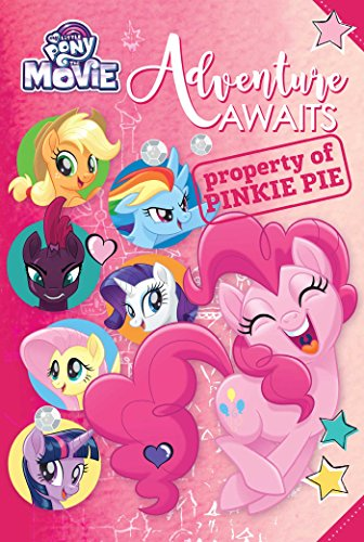 Book cover from My Little Pony: The Movie: Adventure Awaits (Replica Journal) by Rachael Upton