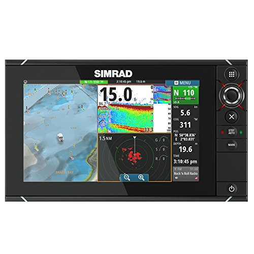 Simrad NSS9 evo2 Combo Multifunction Display Insight by Simrad