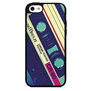 Cool Cassette Tape Hard Snap on Phone Case (iPhone 5c)