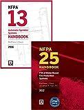 2016 NFPA 13 Handbook and 2017 NFPA 25 Handbook Set