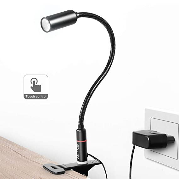 Review Clip on Lamp/Reading Light/TECKIN