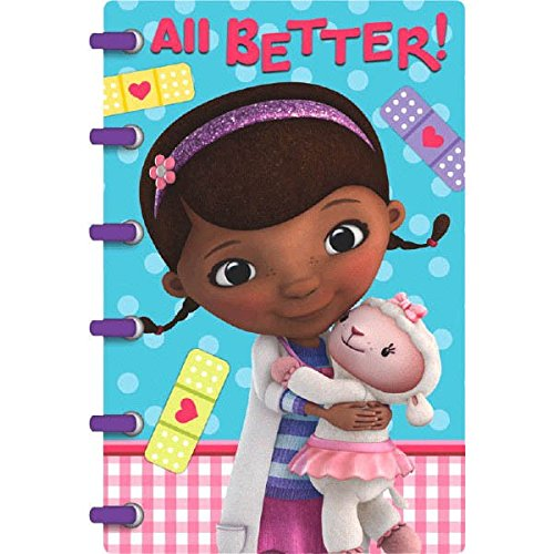 Postcard Thank You Cards | Disney Doc McStuffins Collection | Party Accessory ()