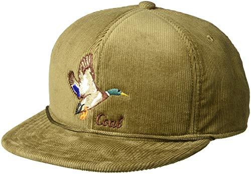 Coal Men's The Wilderness Hat Adjustable Corduroy Snapback - Corduroy Mens Hat