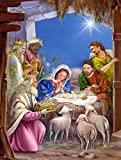 Caroline's Treasures APH5603CHF The Wise Men at The Nativity Christmas Canvas House Flag, Large, Multicolor Review