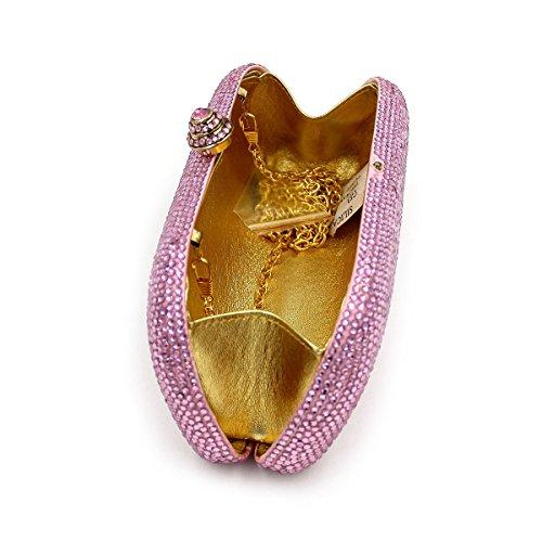 WYB Europäischen und amerikanischen Luxus-Wohnung Diamant-Abendbeutel / Brautbeutel / hochwertigen Kristall voller Diamanten Beutel / Abendbeutel Hand
